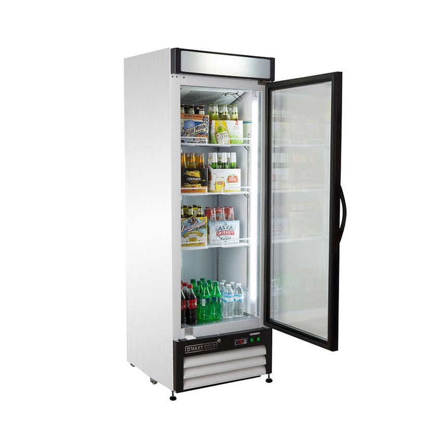 1 Door Cooler Refrigerated Vending - Snack Attack Vending Toronto