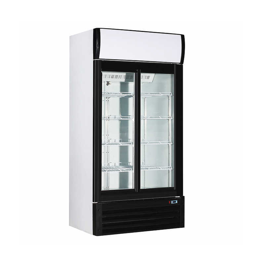 2 Door Cooler Refrigerated Vending - Snack Attack Vending Machines Toronto