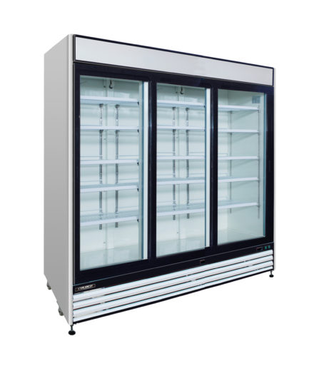 3 Door Cooler Refrigerated Vending - Snack Attack Vending Machines Toronto