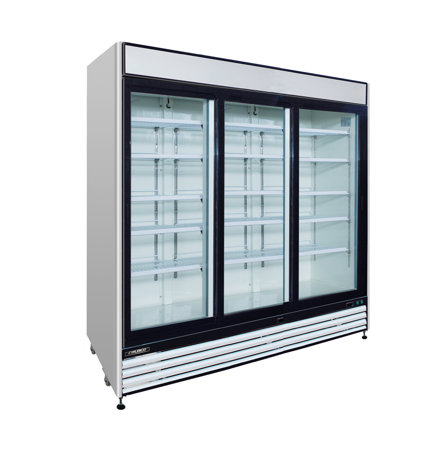 3 Door Cooler Refrigerated Vending - Snack Attack Vending Machines Toronto