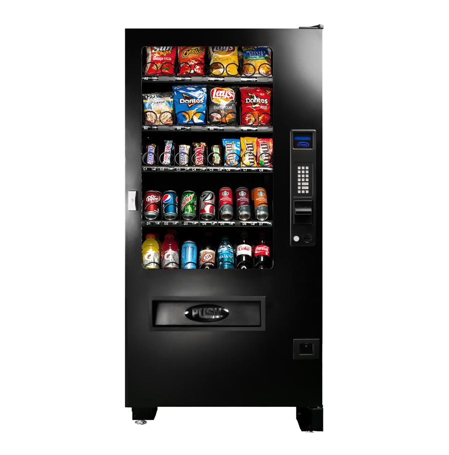 INF4C Combo Vending Machine Snack Attack Toronto