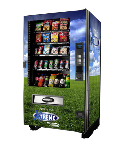 INF5C Outdoor Combo Vending Machine Snack Attack Toronto